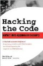 Descargar el libro isbn gratis Hacking the code: asp.net web application security