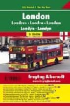 londres city pocket, plano callejero (1:10000) (freytag & berndt) 9783707909258