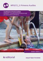primeros auxilios. afda0210 (ebook) joaquín tejero fernández 9788416271658