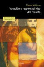 vocación y responsabilidad del filósofo (ebook)-gianni vattimo-9788425430558