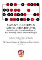 casos y cuestiones sobre derecho civil guillermo cerdeira bravo 9788429018158