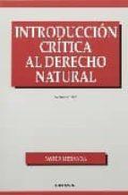 introduccion critica al derecho natural javier hervada 9788431307158