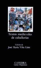 textos medievales de caballerias-jose maria viña liste-9788437612058