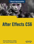 after effects cs6 (manuel imprescindible)-manuel martinez sotillos-jose carlos panadero riol-9788441533158