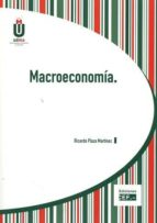 macroeconomia ricardo plaza martinez 9788445433058