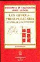 ley general presupuestaria (4ª ed.) 47/2003 de 26/11-9788447027958