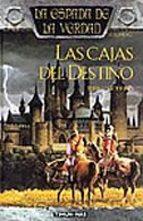 las cajas del destino: la espada de la verdad (vol. 2)-terry goodkind-9788448032258