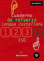 cuaderno de refuerzo: lengua castellana (4º eso)-9788448917258