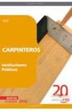 carpinteros instituciones publicas. test 9788468101958