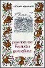 poema de fernan gonzalez (5ª ed.) 9788470390258