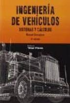 ingeniería de vehículos (4ª ed.) manuel cascajosa soriano 9788473603058