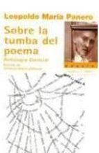 sobre la tumba del poema leopoldo maria panero 9788483748558