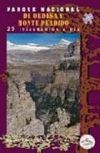 parque nacional de ordesa y monte perdido: 25 itinerarios-eduardo viñuelas cobos-9788487601958