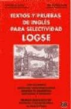 textos y pruebas de ingles para selectividad logse victor et al. bellon alonso 9788489756458