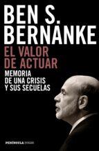 el valor de actuar-ben s. bernanke-9788499424958
