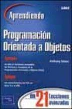 aprendiendo programacion orientada a objetos en 21 lecciones-9789702603665