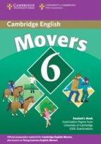 cambridge young learners english tests 6: student s book (movers) 9780521739368