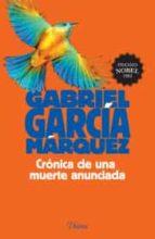 cronica de una muerte anunciada gabriel garcia marquez 9786070726668