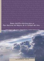 bases científico-técnicas para un plan nacional de mejora de la calidad del aire (ebook)-9788400094768