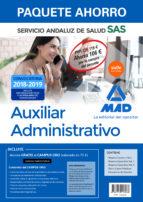 compra anticipada paquete ahorro auxiliar administrativo del servicio andaluz de salud. ahorro de 106¤ (incl. temario común y-9788414218068
