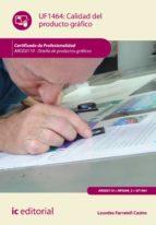 (i.b.d.) calidad del producto grafico uf1464. argg0110 diseño de productos graficos-9788416207268