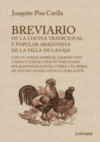 breviario de la cocina tradicional y popular aragonesa de la villa de lanaja (ebook)-joaquim pisa carilla-9788416496068