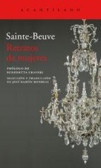 retratos de mujeres charles agustin saint beauve 9788416748068