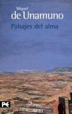 paisajes del alma miguel de unamuno 9788420633268