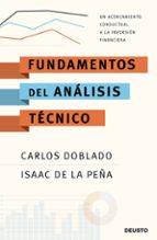 fundamentos del analisis tecnico-carlos doblado-isaac de la peña-9788423427468