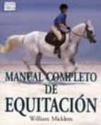 manual completo de equitacion william micklem 9788428213868
