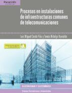 procesos en instalaciones de infraestructuras comunes de telecomunicaciones luis miguel cerda filiu tomas hidalgo iturralde 9788428337168