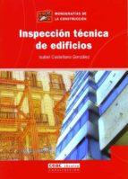 inspeccion tecnica de edificios-isabel castellano gonzalez-9788432917868