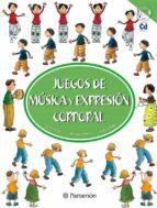 juegos de musica y expresion corporal nuria trias susana perez luis filella 9788434224568