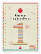 numeros y operaciones 1: cuaderno (1º educacion primaria)-carmen sanchez viñambres-9788434897168