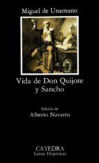 vida de don quijote y sancho-miguel de unamuno-9788437607368