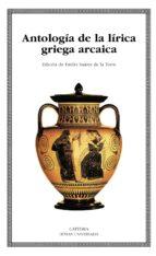 antologia de la lirica griega arcaica-9788437620268