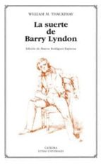 la suerte de barry lyndon.-william m. thackeray-9788437623368