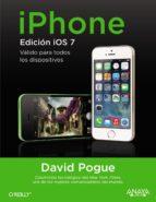 iphone. edicion ios7 david pogue 9788441535268