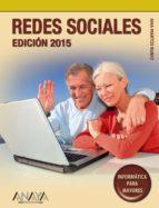 redes sociales. edicion 2015 (informatica para mayores) ana martos rubio 9788441536968