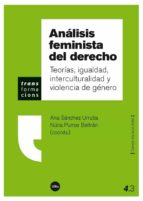 analisis feminista del derecho ana sanchez urrutia nuria pumar beltran 9788447537068