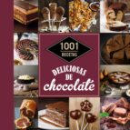 1001 recetas deliciosas de chocolate 9788448021368