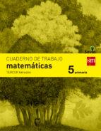 cuaderno matemáticas 3º trimestre savia 5º educacion primaria ed 2014  castellano 9788467570168