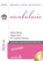 vocabulario. nivel medio b1-nina sutton-9788467815368