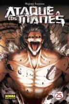ataque a los titanes 25 hajime isayama 9788467932768