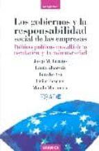 los gobiernos y la responsabilidad social de las empresas-9788475777368