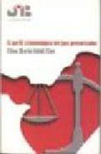 el perfil criminologico del juez prevaricador elisa maria güidi clas 9788476986868