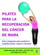 pilates para la recuperación del cáncer de mama 9788479029968