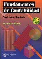 fundamentos de contabilidad (2ª edicion-introduccion al pgc-angel muñoz merchante-9788480048668