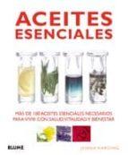 aceites esenciales jennifer harding 9788480767668