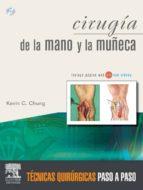 cirugía de la mano y la muñeca (ebook)-k. c. chung-9788480865968